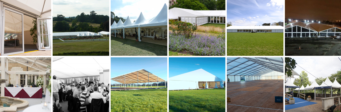 Undercover events marquee hire